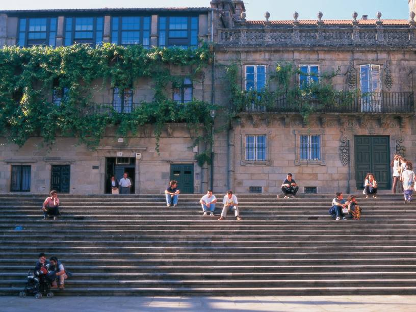Casa de La Parra, no centro histórico de Santiago de Compostela
