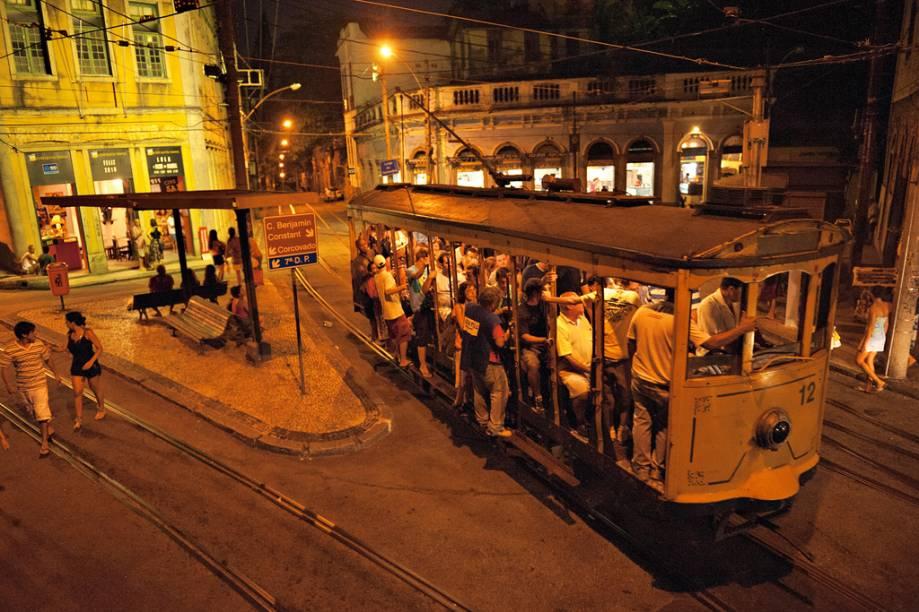 Bonde de Santa Teresa, no Rio de Janeiro