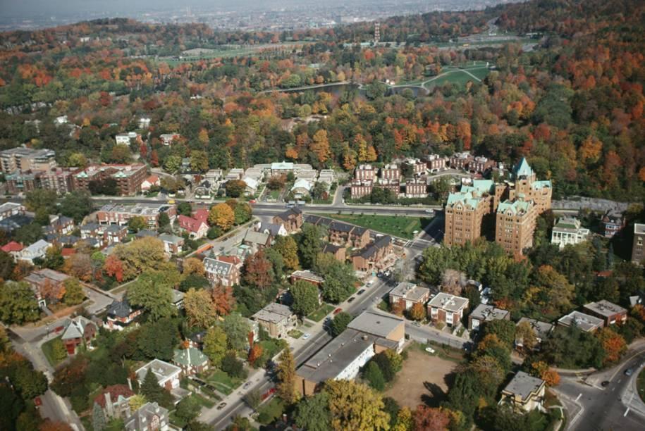 Vista aérea de Montreal