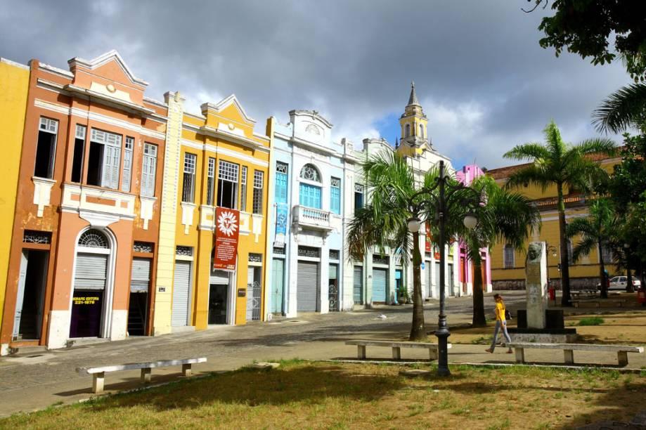 O Centro Histórico da capital pode ser conhecido a pé em uma tarde