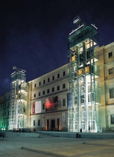 O Museu Rainha Sofia abriga a célebre Guernica, de Pablo Picasso, além de obras de Miró e Salvador Dalí