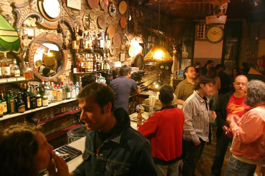 Casa das Crechas, tradicional bar de Santiago de Compostela