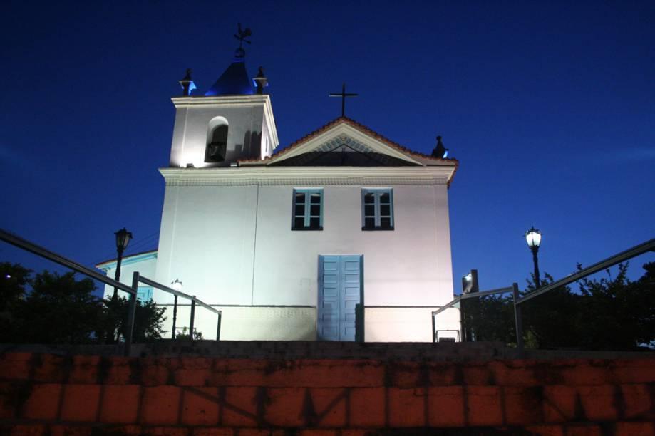 Igreja Nossa Senhora dos Remédios, na Praia dos Anjos