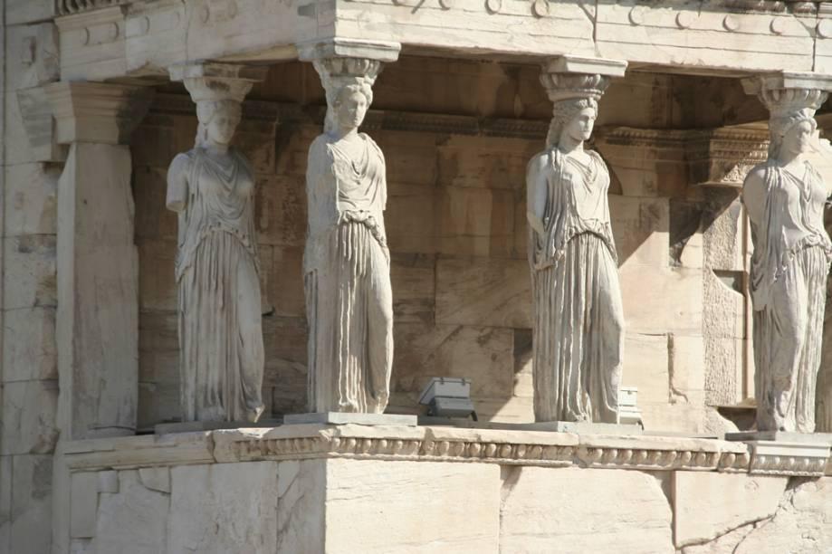 O Parthenon, um dos principais cartões-postais do mundo, foi construído há mais de 2.500 anos para a deusa Atena