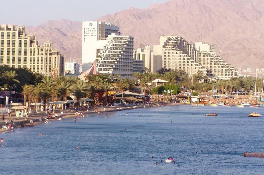 """<strong>10. Eliat - <a href=""""http://viajeaqui.abril.com.br/paises/israel"""" rel=""""Israel"""" target=""""_blank"""">Israel</a></strong>A cidade mais ao sul do país, no Golfo de Aqaba, tem como atrativos o Parque Nacional de Timna e a Reserva Natural de Coral Beach."""