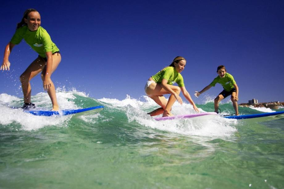"""Bondi Beach é uma das praias de Sydney que """"fervem"""" no verão australiano"""