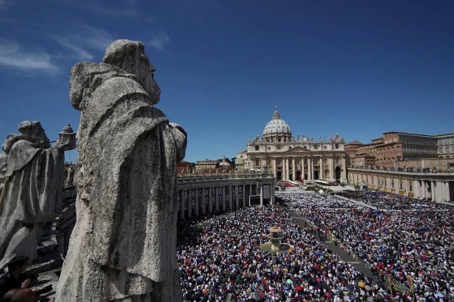 Missa de Páscoa na Praça de São Pedro, Vaticano