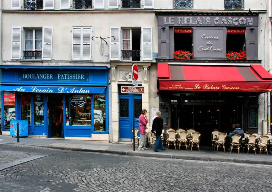 Doceria e bistrô em Montmartre, um dos bairros mais charmosos de Paris