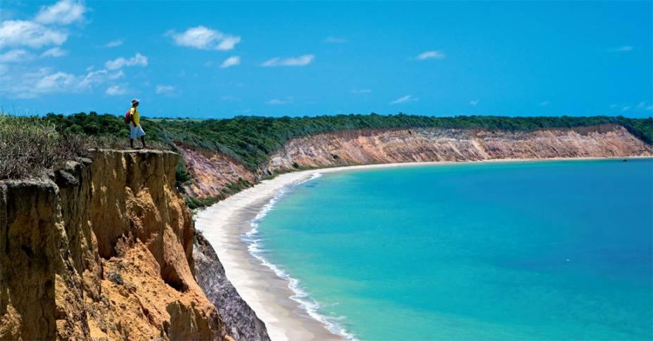 A Praia de Carro Quebrado, no litoral alagoano