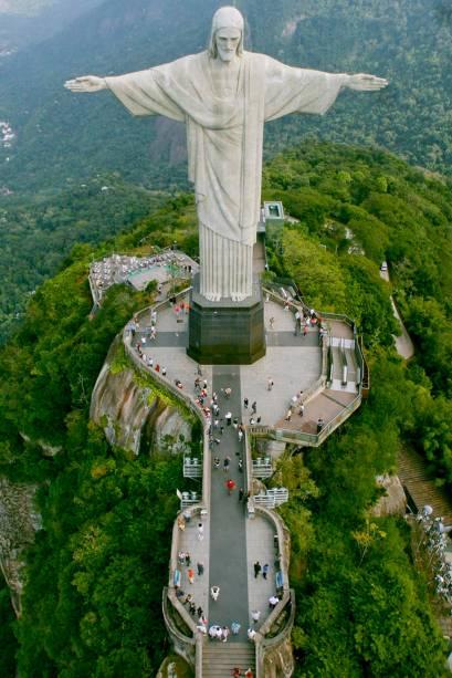 O Cristo Redentor é uma das Sete Novas Maravilhas do Mundo