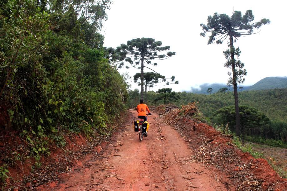 """Este é um caminho mais curto que também passa pela Mantiqueira. A travessia tem 100 km, dura dois dias e se restringe aos municípios de <a href=""""http://viajeaqui.abril.com.br/cidades/br-mg-baependi"""" target=""""_blank"""">Baependi</a>, <a href=""""http://viajeaqui.abril.com.br/cidades/br-mg-caxambu"""" target=""""_blank"""">Caxambu</a>, <a href=""""http://viajeaqui.abril.com.br/cidades/br-mg-aiuruoca"""" target=""""_blank"""">Aiuruoca</a> e Vale do Matutu. São trilhas de mata fechada, estradas de terra e belas paisagens"""