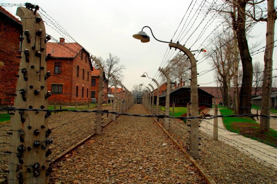"""<strong><a href=""""http://viajeaqui.abril.com.br/cidades/polonia-auschwitz-oswiecim"""" rel=""""Auschwitz"""" target=""""_blank"""">Auschwitz</a>, <a href=""""http://viajeaqui.abril.com.br/paises/polonia"""" rel=""""Polônia"""" target=""""_blank"""">Polônia</a></strong>                                    Os campos de concentração de Auschwitz são considerados como o maior símbolo dos horrores do Holocausto. Ao todo, cerca de 1,5 milhão de pessoas foram mortas, entre judeus, ciganos e prisioneiros soviéticos dizimados em câmaras de gás ou em decorrência de doenças, fome, trabalhos forçados, execuções e até experiências científicas desumanas. Para construir o grande complexo, os nazistas destruíram a pequena vila de Birkenau (""""floresta de bétulas"""", em protuguês), erguendo diversos alojamentos que abrigavam prisioneiros capturados de diferentes lugares da Europa. Hoje em dia, o lugar tornou-se um museu e é listado como Patrimônio Cultural da Humanidade pela Unesco. O passeio, apesar de triste, atrai o olhares de turistas curiosos em busca da preservação de objetos pertencentes a homens, mulheres e crianças que passaram pelo local, além de circular pelos seus antigos alojamentos. Por aqui, é possível ver até mesmo mechas de cabelos cortadas de prisioneiros que, posteriormente, seriam executados nas câmaras"""