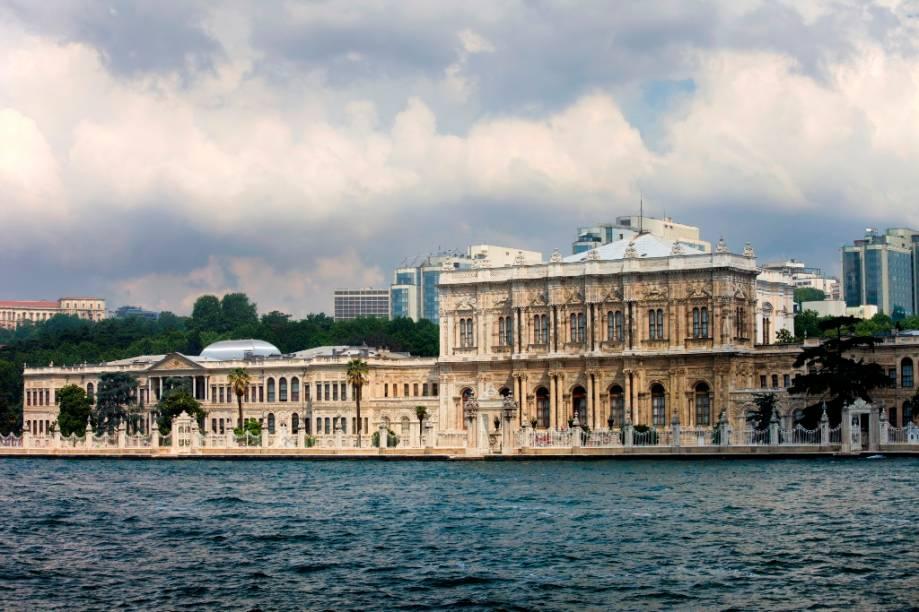 Vista do Palácio Dolmabahce