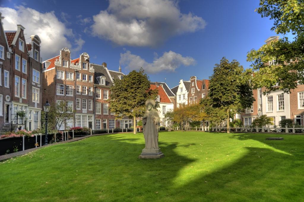 Begijnhof, Amsterdã, Holanda
