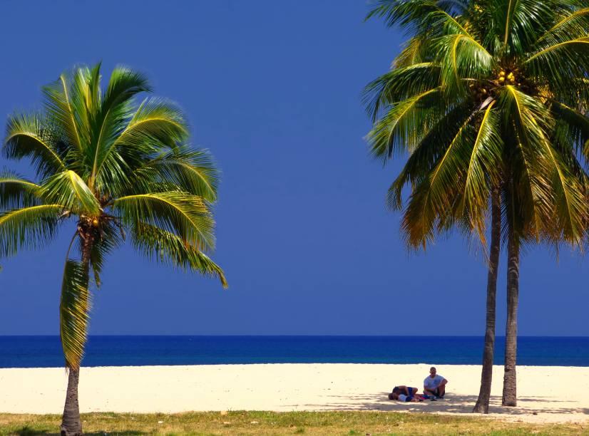 "O Caribe cubano próximo a <strong><a href=""http://viajeaqui.abril.com.br/estabelecimentos/cuba-havana-atracao-habana-vieja"" rel=""Habana Vieja"" target=""_blank"">Habana Vieja</a></strong>"