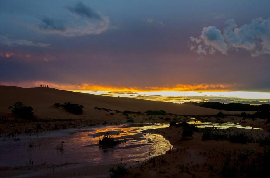 """Com suas dunas, cachoeiras e lagoas, o Jalapão, no Tocantins, tem um cenário único - e é daí que vem o apelido de """"deserto das águas"""""""