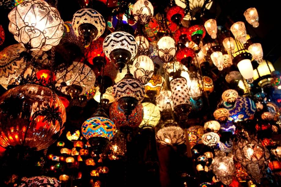 O Grande Bazar e sua longa história são uma passagem obrigatória em Istambul - até mesmo para o city tour oferecido pela Turkish Airlines