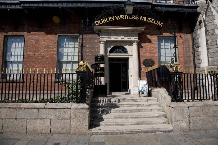 O Writers Museum ocupa uma construção original do século 18