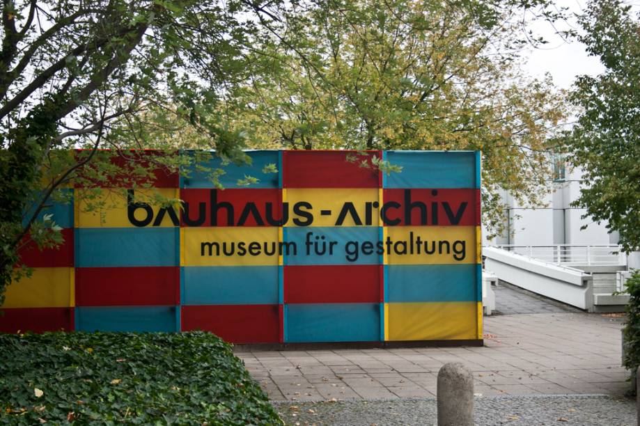 Museu Bauhaus, em Berlim