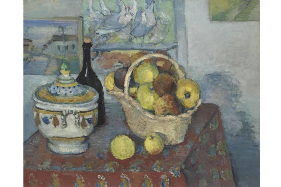 <em>Nature morte à la soupière, de</em>Paul Cézanne