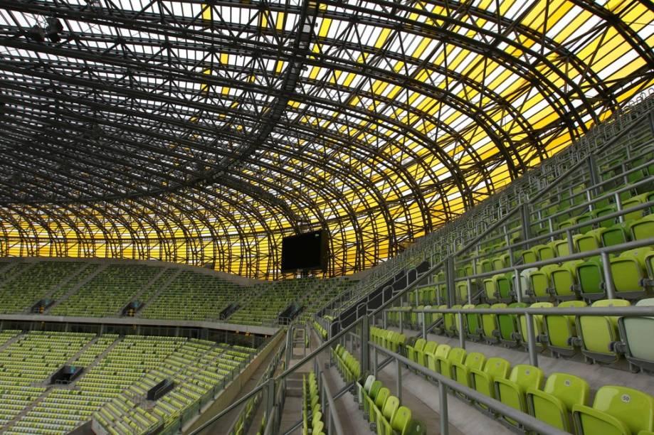 Os 40 mil assentos do PGE Arena de <strong>Gdansk</strong>, no norte da Polônia, não serão suficientes para receber os torcedores do grupo C da Eurocopa 2012, que terá as seleções de Espanha, Itália, Croácia e Irlanda