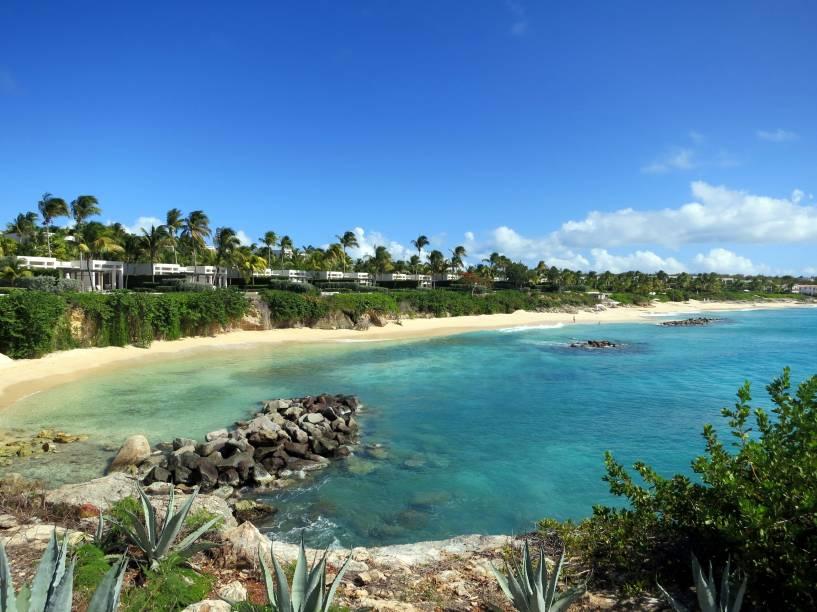 Praia do Hotel Viceroy, em <strong>Anguilla</strong>
