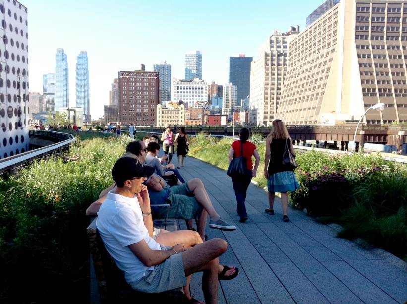 High Line Park, em Nova York