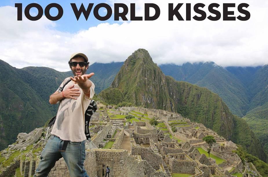O fotógrafo, que não beija ninguém, mas mesmo assim espalha uma mensagem de amor pelo mundo