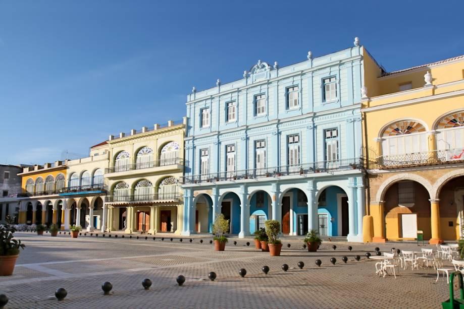 Plaza Vieja, na Velha Havana