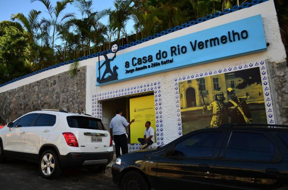 O museu fica no bairro Rio Vermelho, um dos mais badalados de Salvador