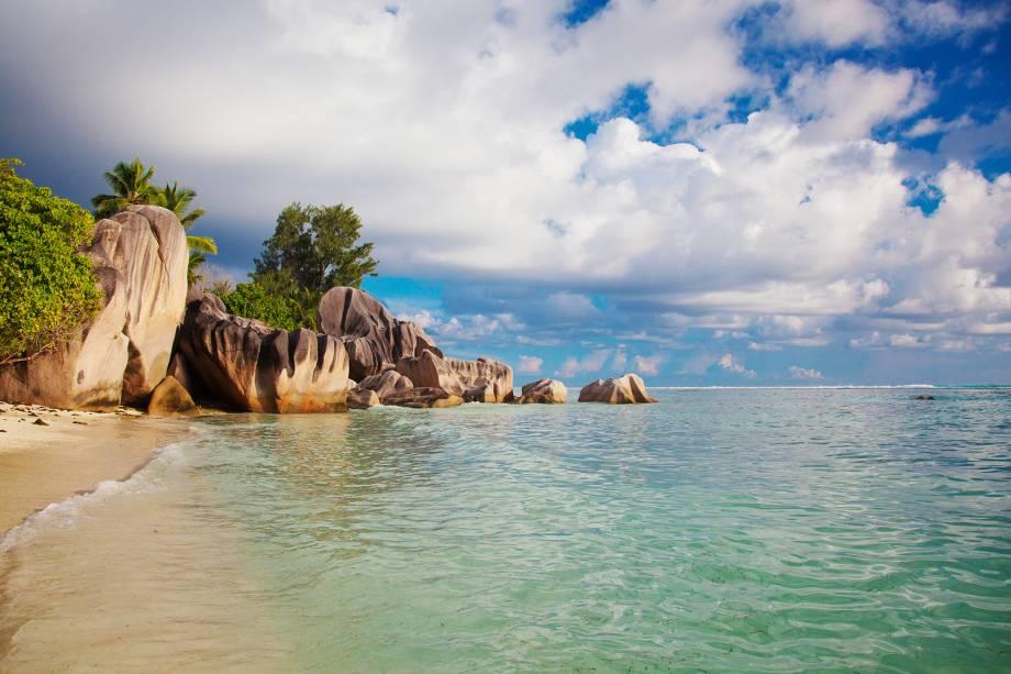 Anse Source dArgent é uma das praias da ilhota La Digue