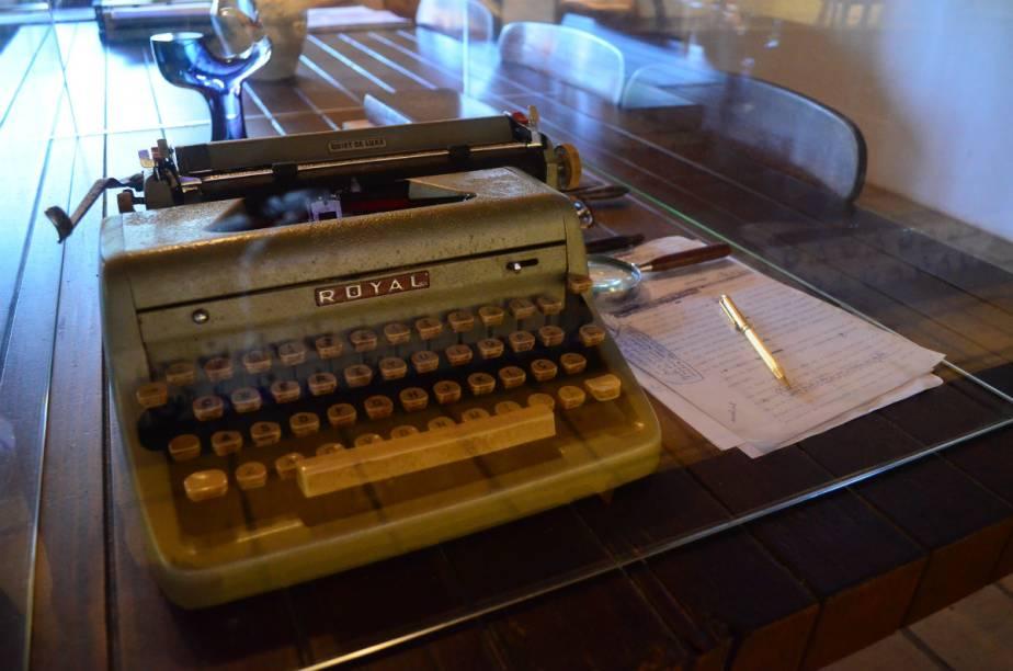 Documentos e cartas escritas por Jorge Amado fazem parte da visita