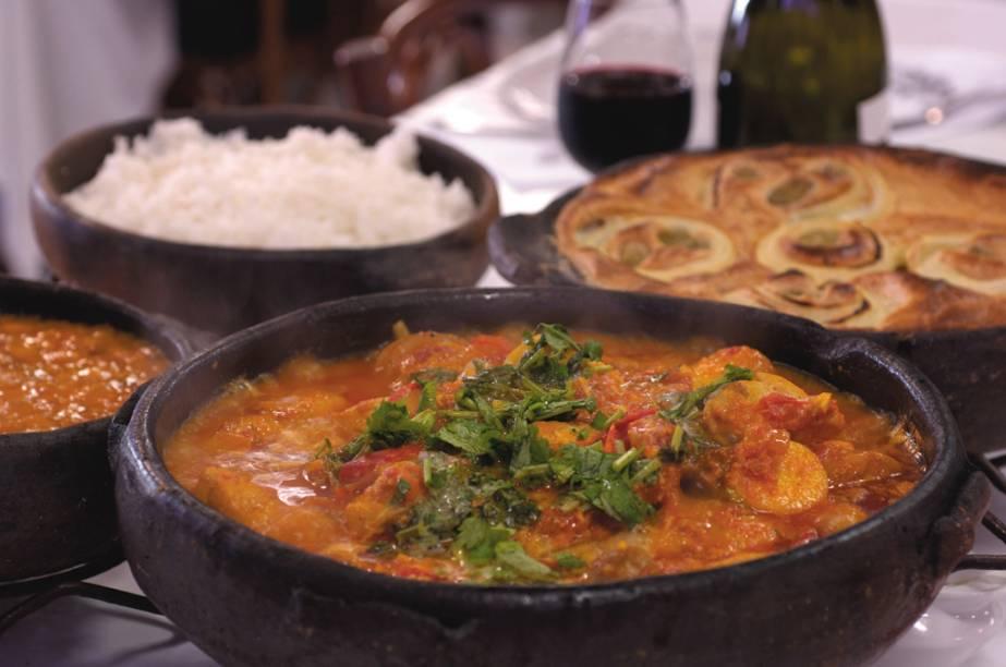 A Moqueca capixaba é a especialidade do restaurante Pirão, eleito O Melhor Capixaba pelo júri da Veja Espírito Santo Comer e Beber 2010/2011