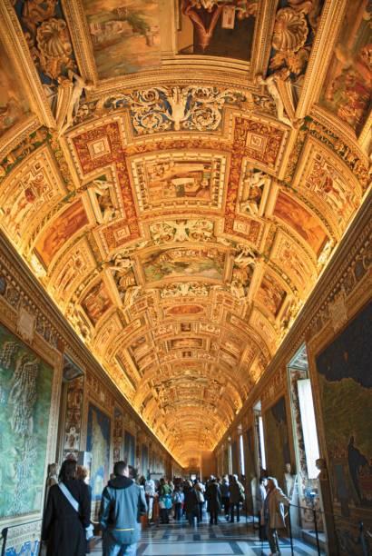 Corredor dos mapas do Musei Vaticani