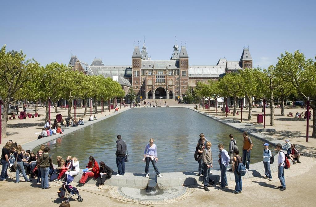 O edifício do Rijksmuseum, em Amsterdã