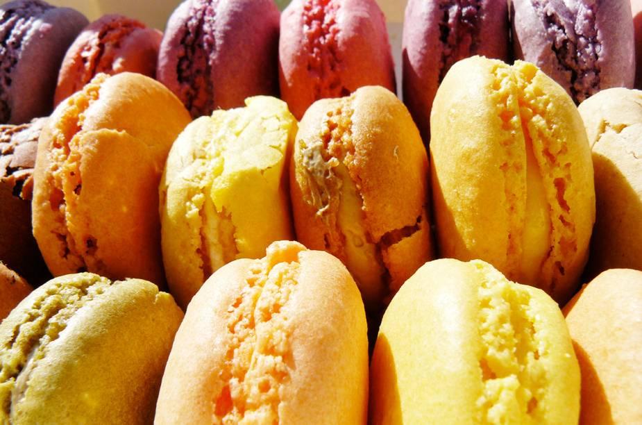 Os macarons são uma grande e deliciosa vocação do vilarejo de Saint-Émilion