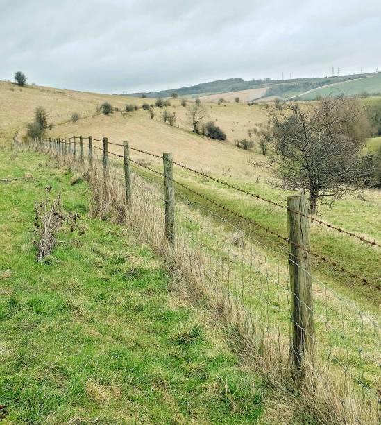 A região tem uma área de cerca de 6 mil quilômetros quadrados, repleta de campos e colinas verdejantes