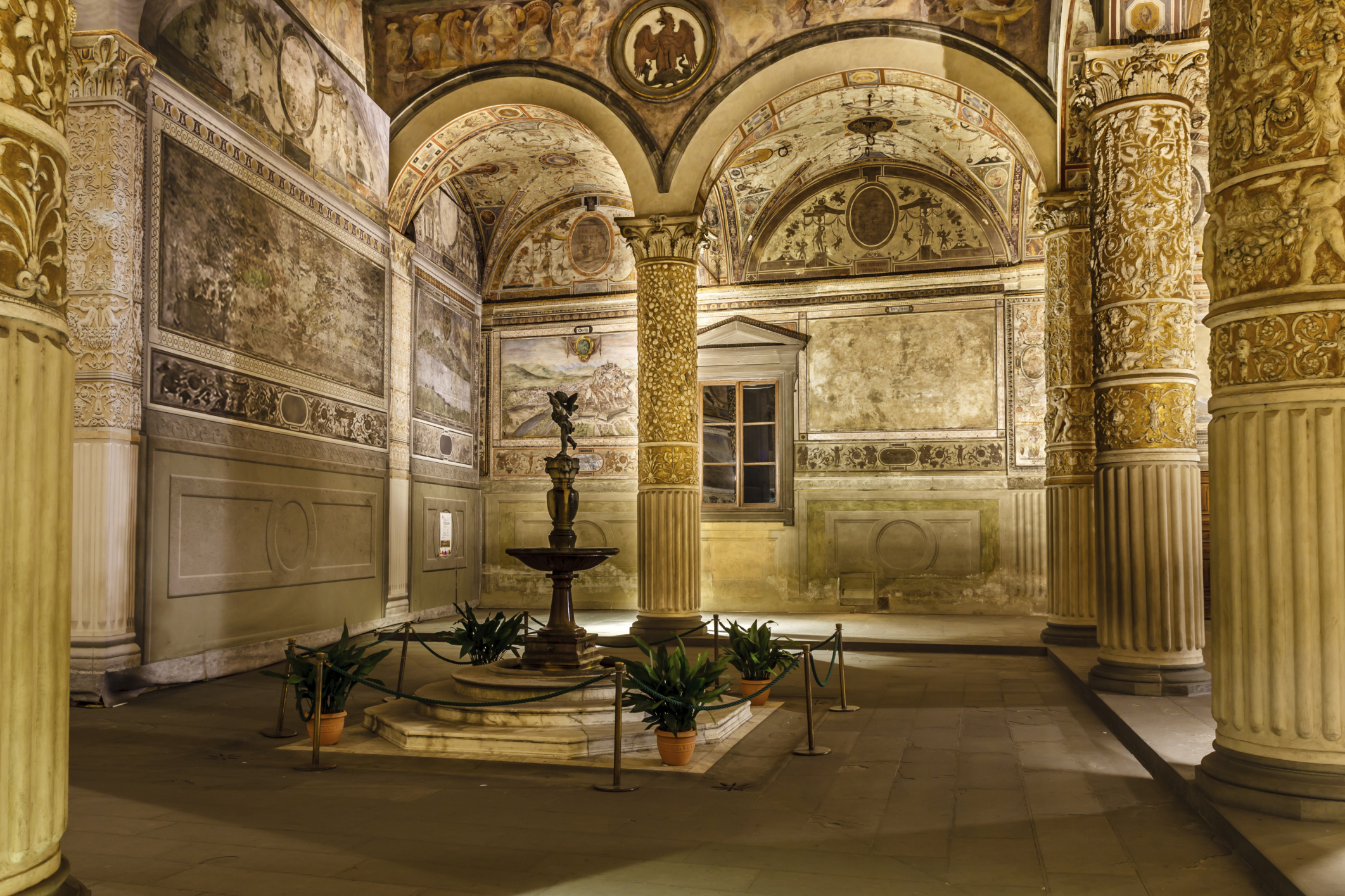 Palazzo Vecchio, Florença, Itália