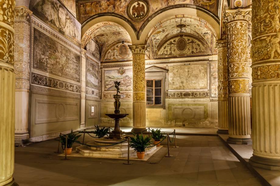 Interior do Palazzo Vecchio