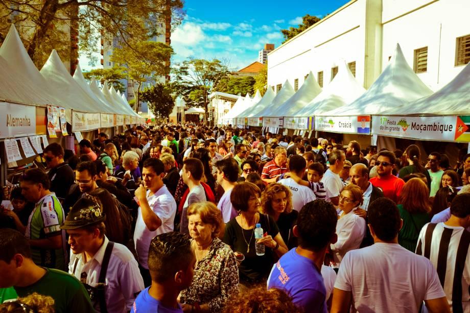 Festa do Imigrante, que em 2012 reuniu mais de 12 mil pessoas