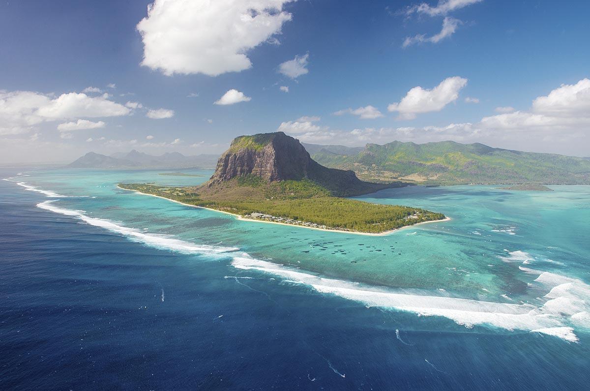 Ilhas Maurício, no Oceano Índico