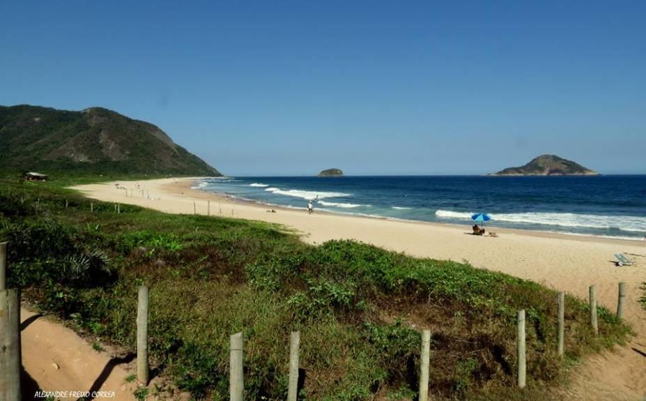 Segundo o Alexandre Freixo Correa, um dos lugares preferidos dele no Rio de Janeiro é a Praia de Grumari