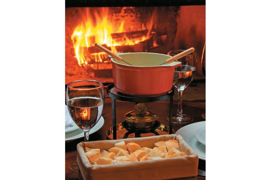 A fondue-família do Vila Inglesa
