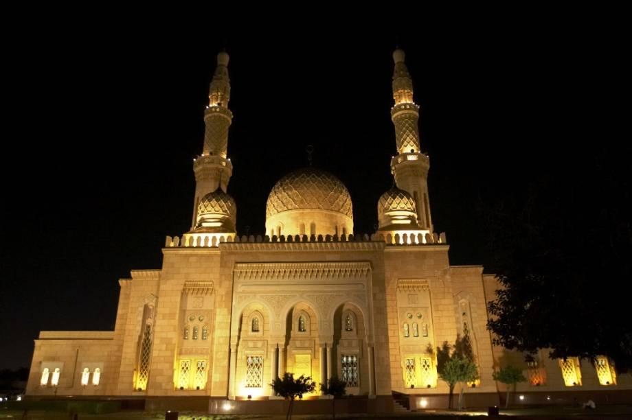 Mesquita Jumeirah, um das atrações mais fotografadas da cidade