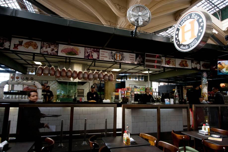 Inaugurado em 2004, a área gourmet do Mercadão tem restaurantes deculinária brasileira, japonesa e árabe. Um dos destaques do lugar é o Hocca bar, o mais antigo estabelecimento do marcado. Esta unidade foi inaugurada em 2005.