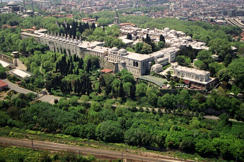 O Palácio de Topkapi foi moradia de diversos sultões otomanos entre os séculos 15 e 19