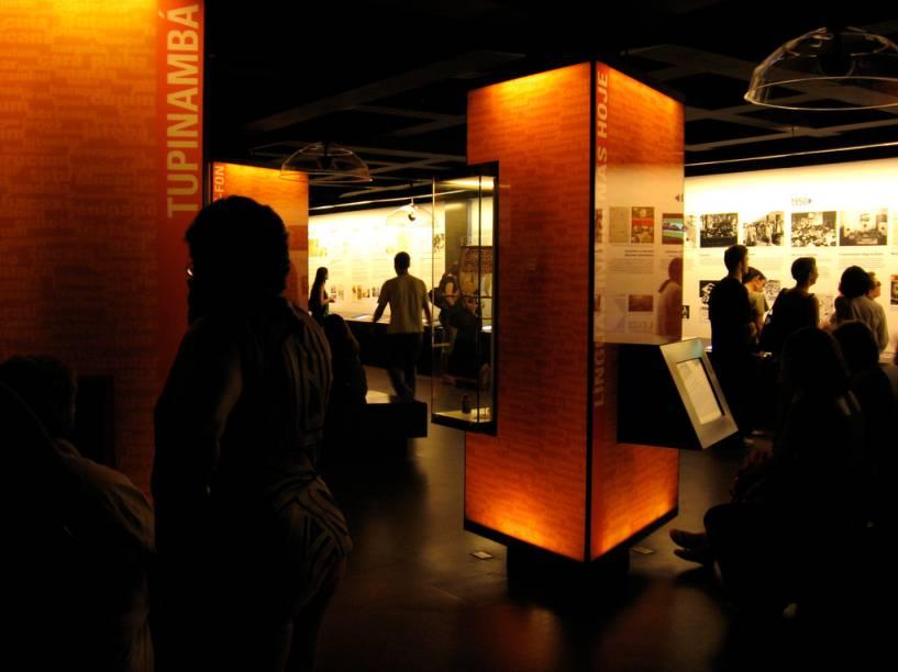 """O <strong><a href=""""http://viajeaqui.abril.com.br/estabelecimentos/br-sp-sao-paulo-atracao-museu-da-lingua-portuguesa"""" rel=""""Museu da Língua Portuguesa"""" target=""""_blank"""">Museu da Língua Portuguesa</a></strong> terá visitas guiadas para descobrir curiosidades sobre o prédio da Estação da Luz"""