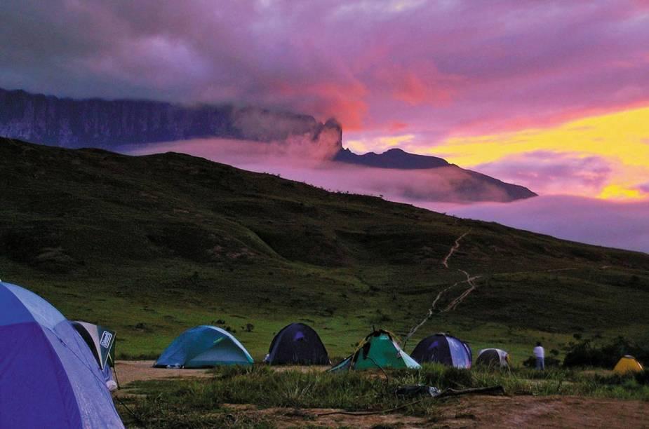 Acampamento no Monte Roraima