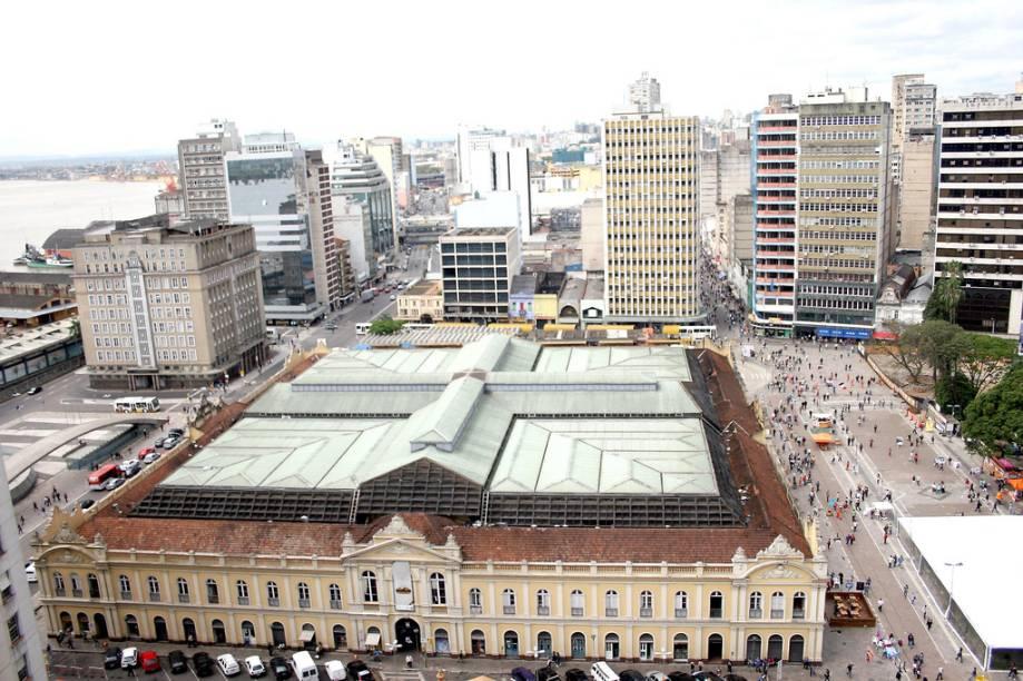 O casarão do Mercado Público foi construído em 1869