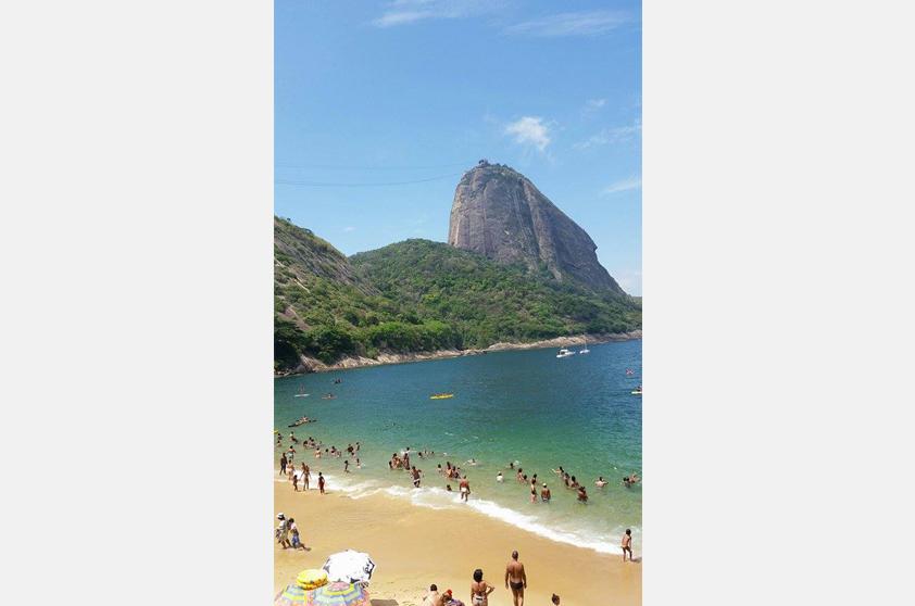 Bruno Homem de Mello contou que a Praia Vermelha é seu cantinho favorito